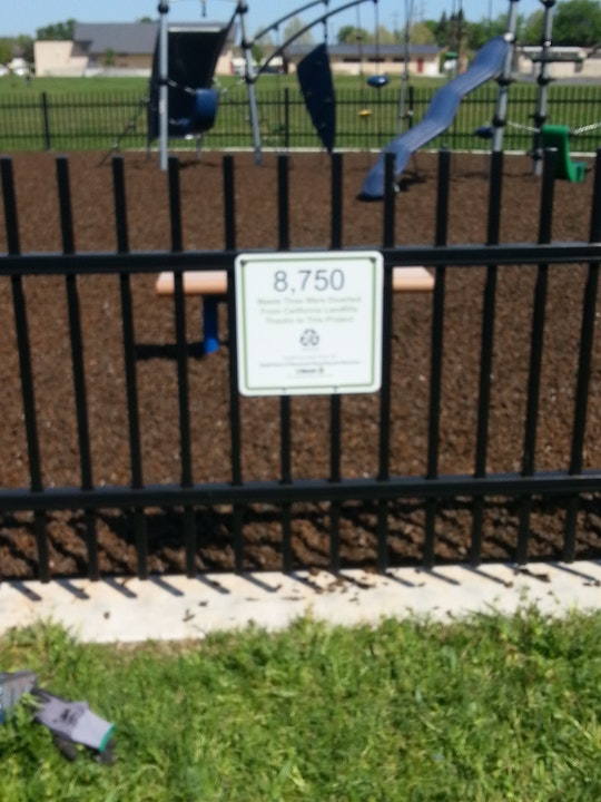 Oakdale Park Playground area.