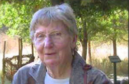 Jo Smith former Board Member for whom the trail is named.  She was a nature enthusiast.