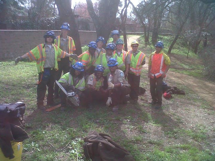 CCC work crew