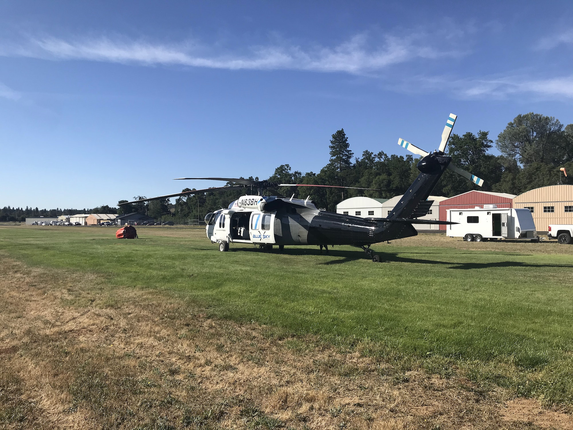 June 17, 2020 Strike team from MWSPFPD E771 Covering Columbia Airbase while CalFire crews are on the Walker Fire North of Copperopolis