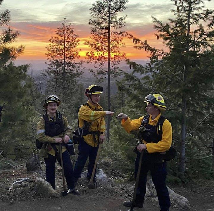 May contain: human, person, and fireman