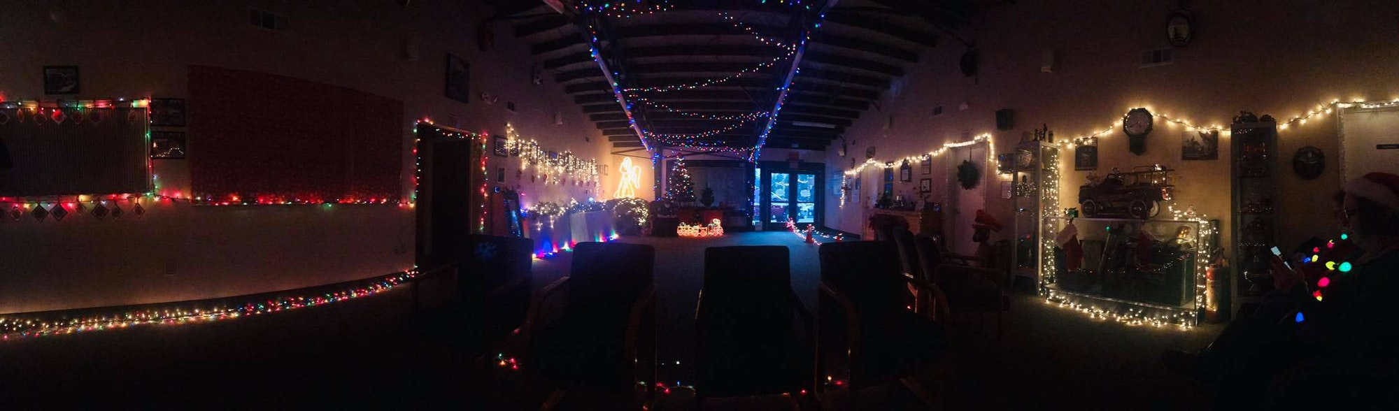 May contain: club, lighting, night club, and night life