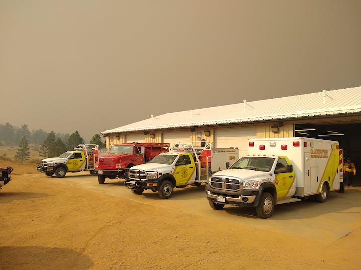 GVFD Fire Station 1 - 2020 Fire