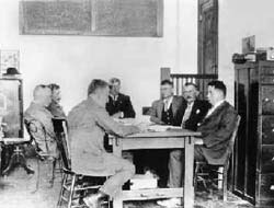 NIDs first Board Meeting on August 15, 1921