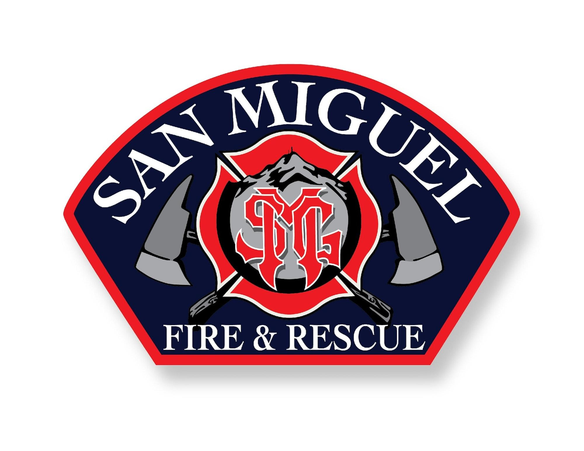 San Miguel Fire & Rescue shoulder patch