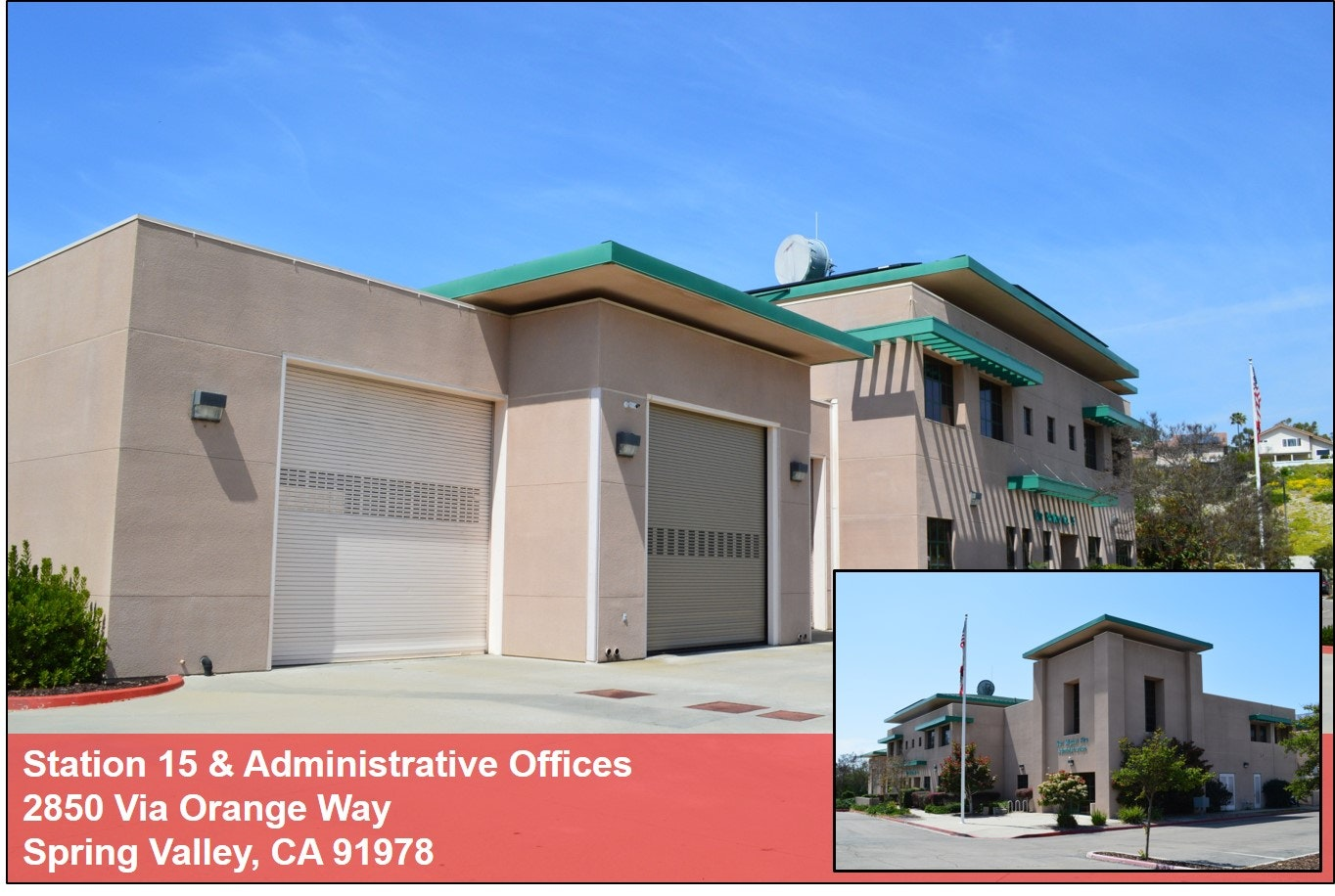 Photo of San Miguel Station 15 and Administrative Offices