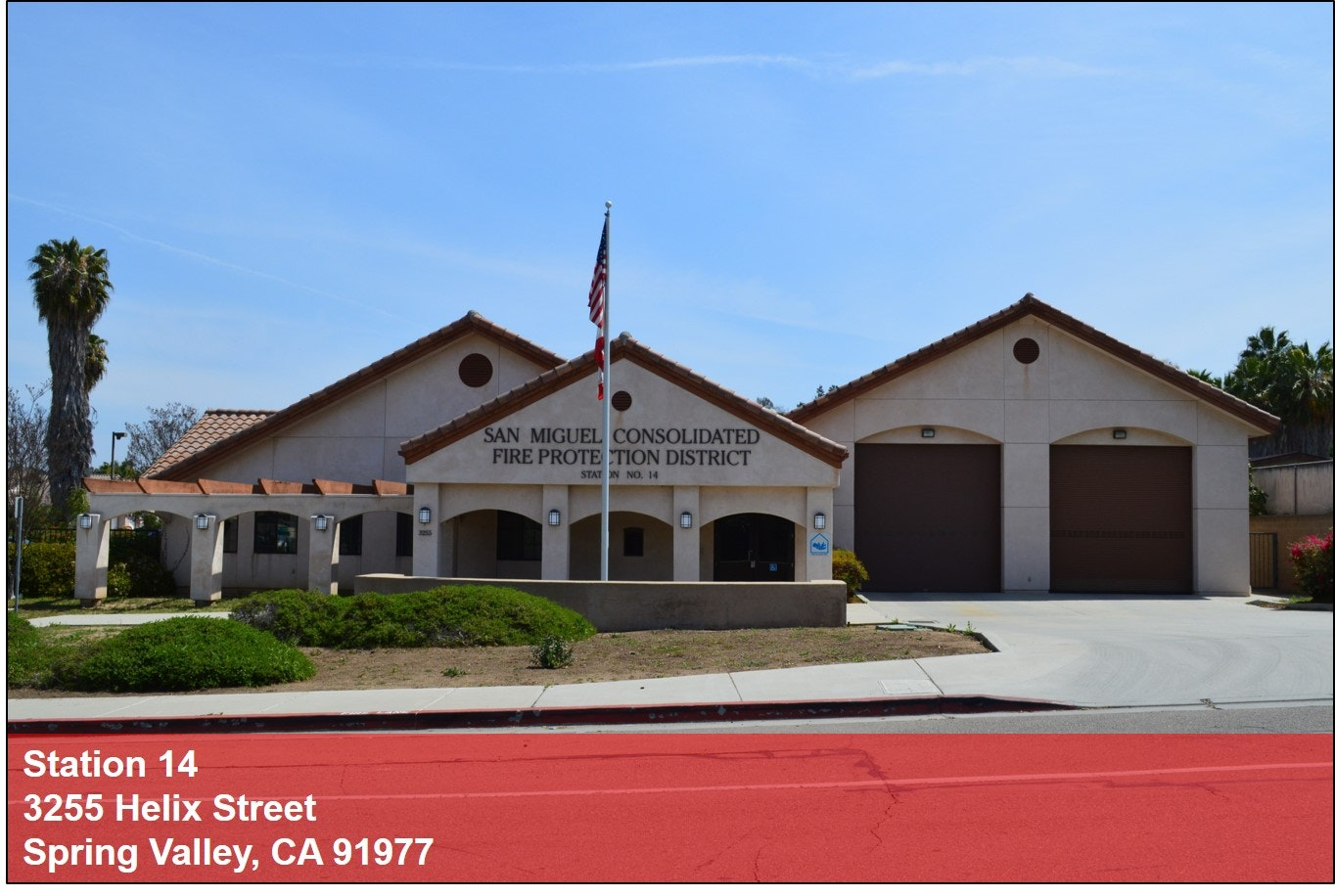 Street view of Station 14
