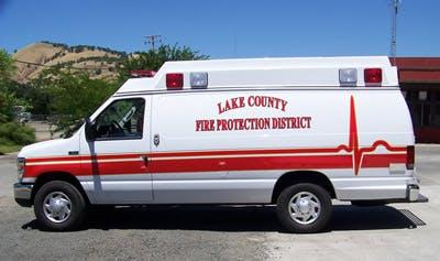 May contain: moving van, van, transportation, vehicle, and ambulance