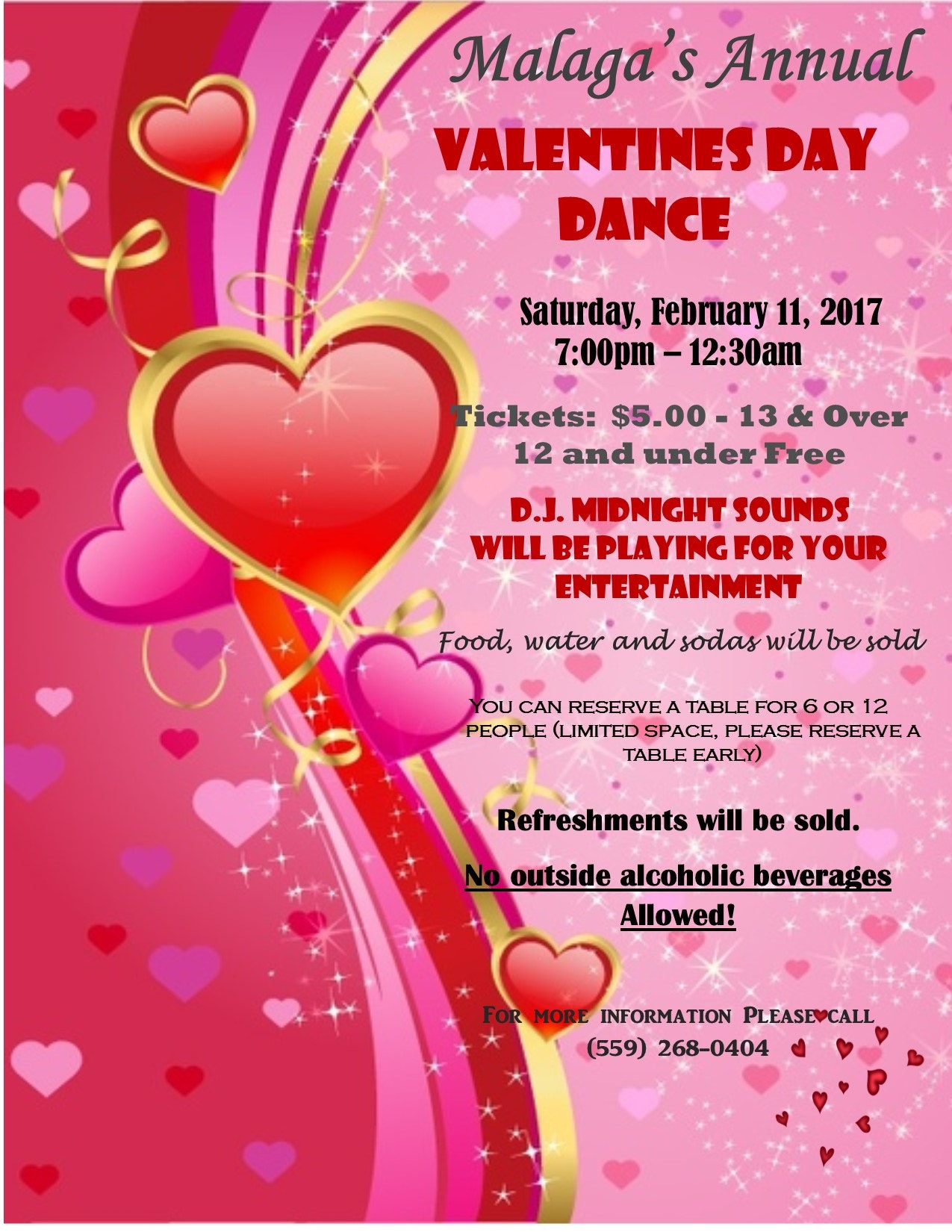 Valentines Day Dance Malaga County Water District