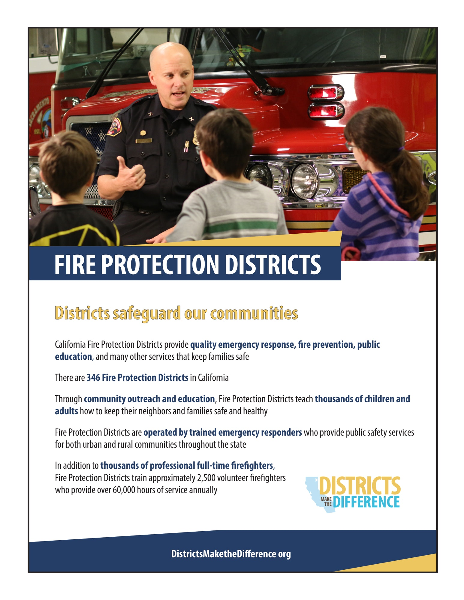 Fire District Fact Sheet