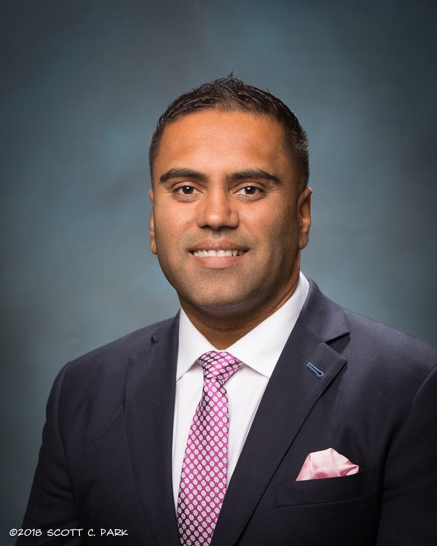 Nitesh Patel, Trustee from the City of La Palma