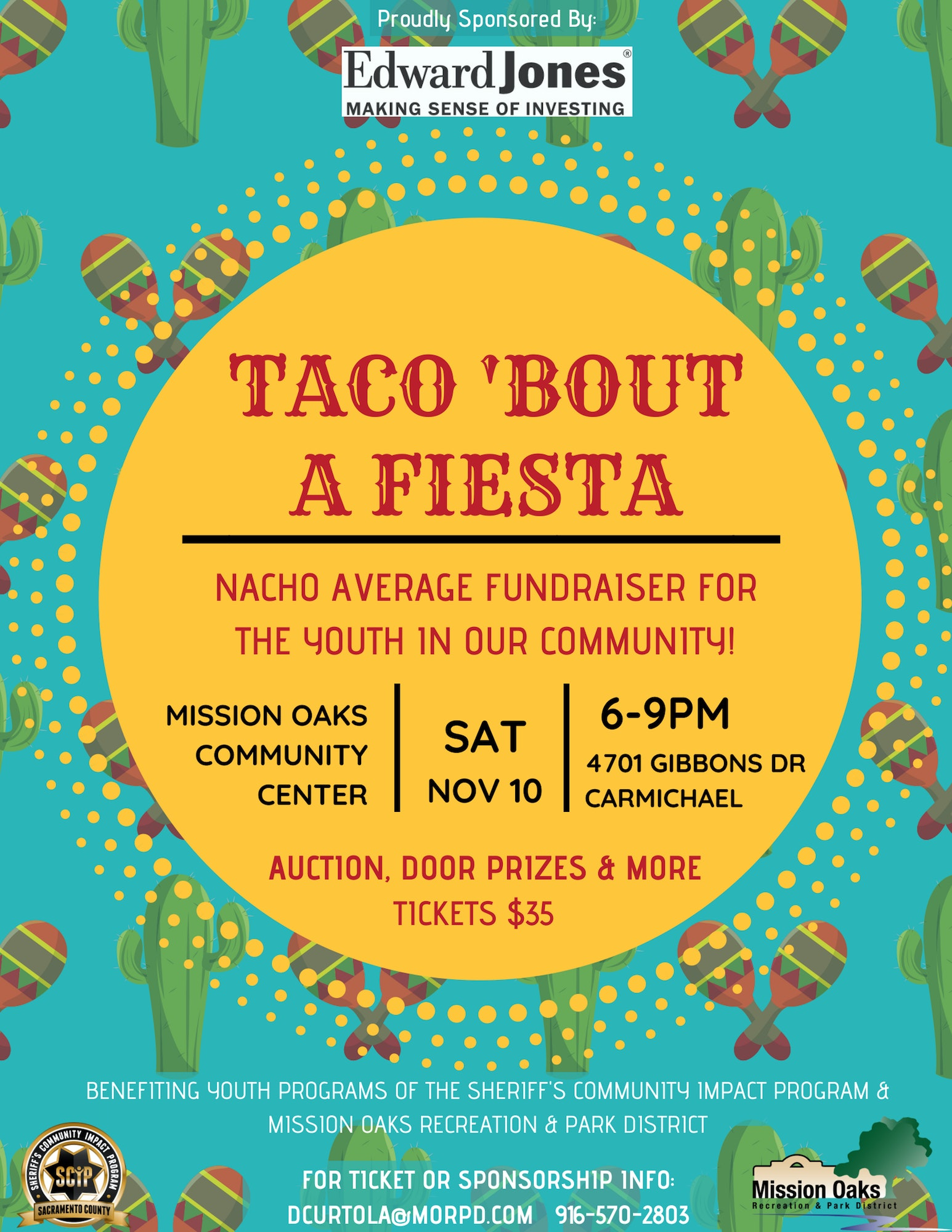 taco bout a fiesta mission oaks recreation park district