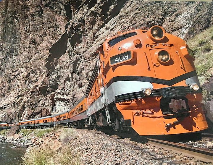May contain: railway, train track, transportation, rail, train, vehicle, and locomotive