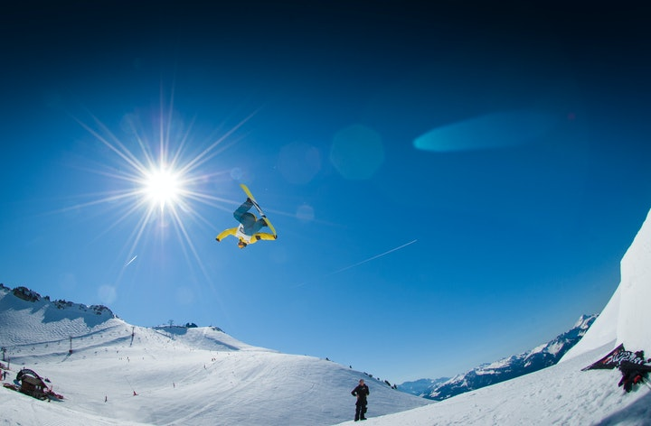 May contain: sport, nature, human, snowboarding, snow, person, sports, outdoors, and piste