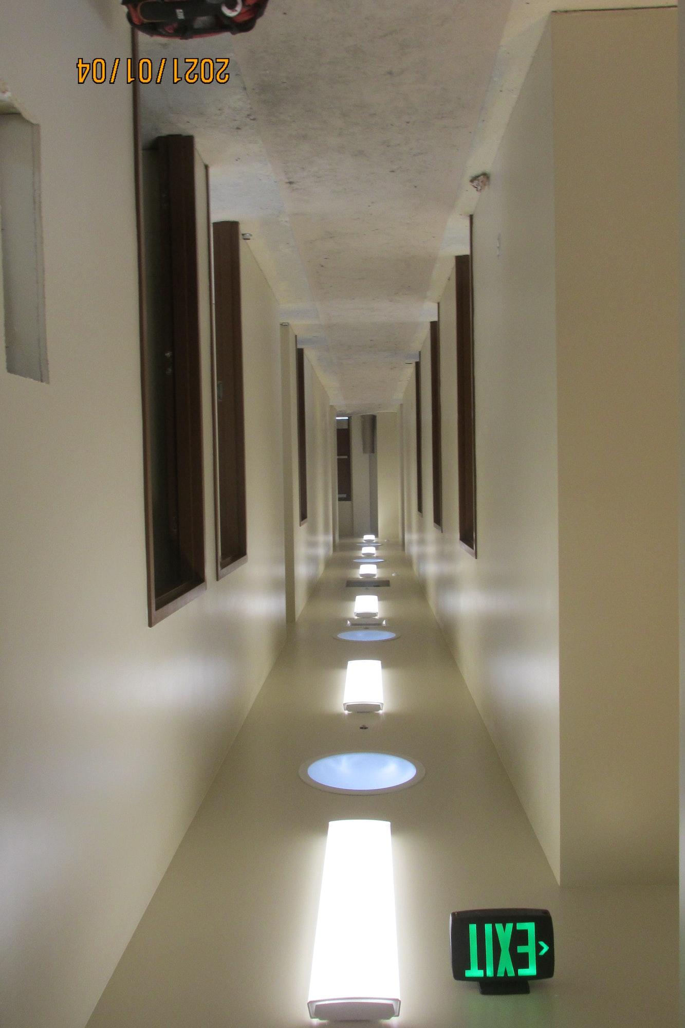 May contain: corridor, flooring, and floor