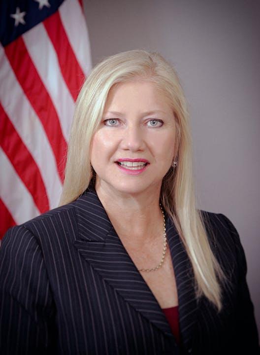 Board president Anne Gerwig