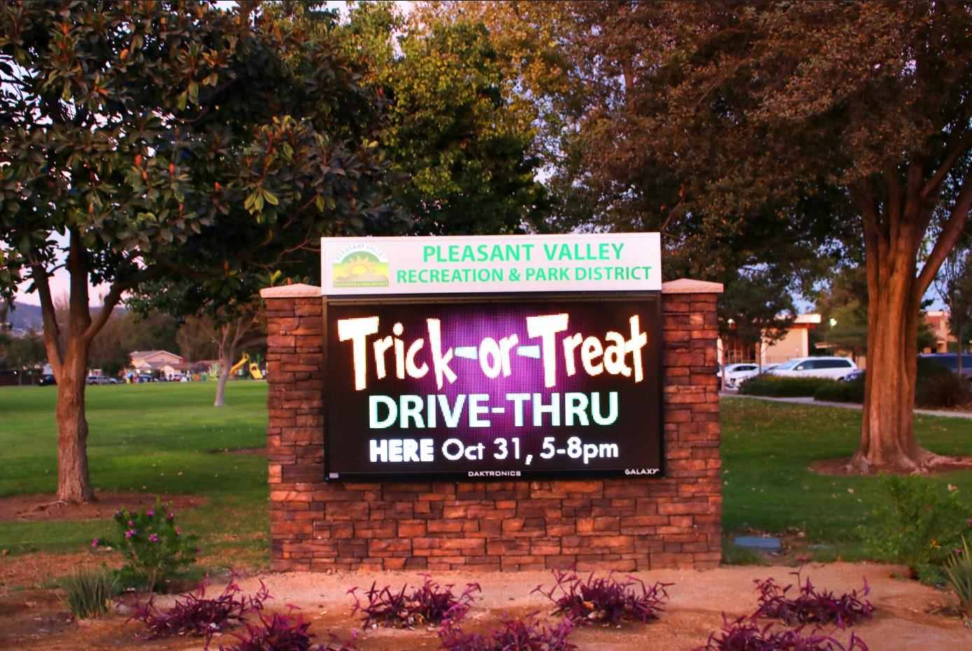 Trick-Or-Treat Drive-Thru