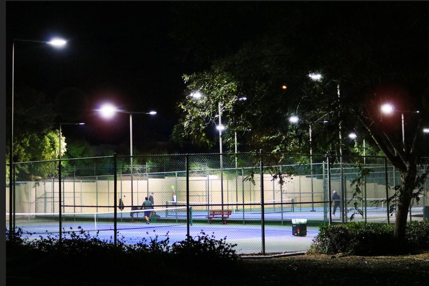 Springville Park tennis courts