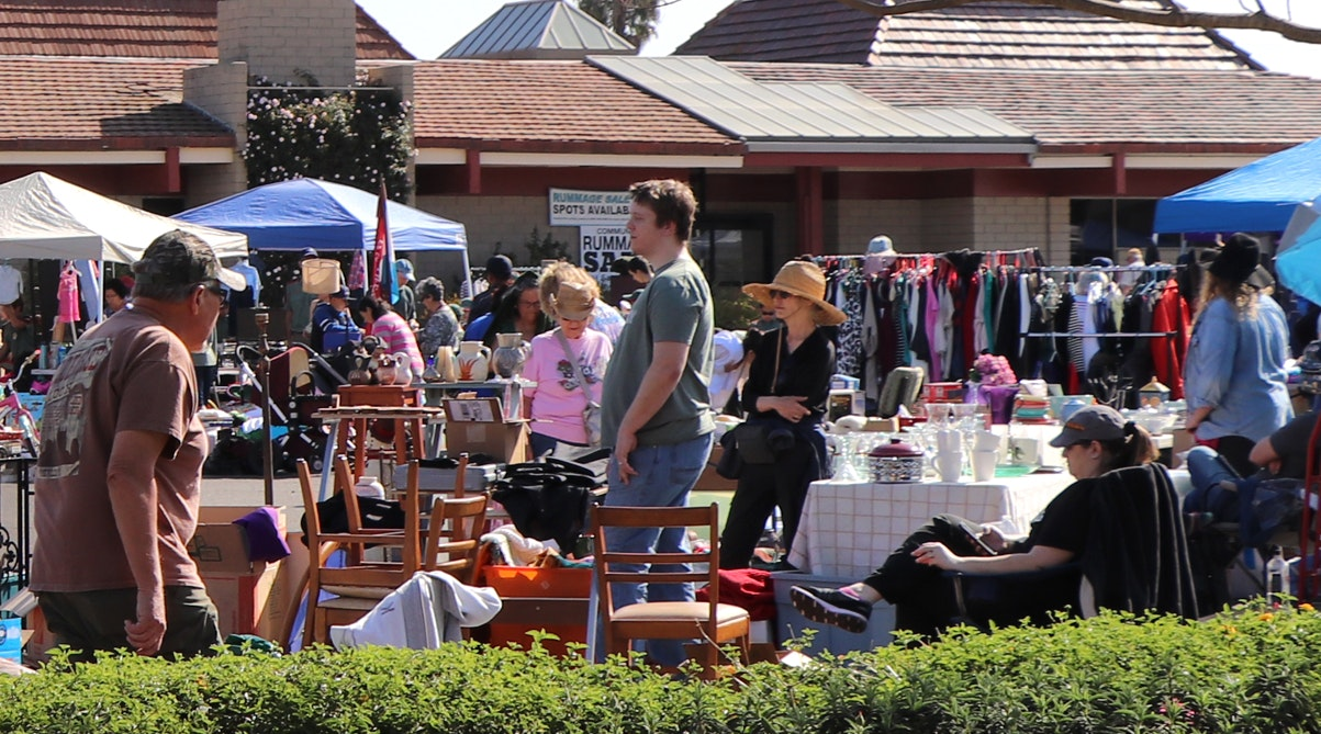 Rummage Sale at Community Center