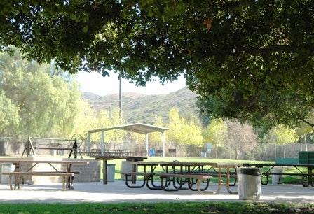 Picnic shelter at Camarillo Grove Park