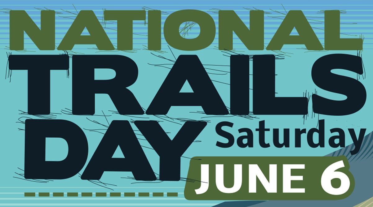 National Trails Day, June 6