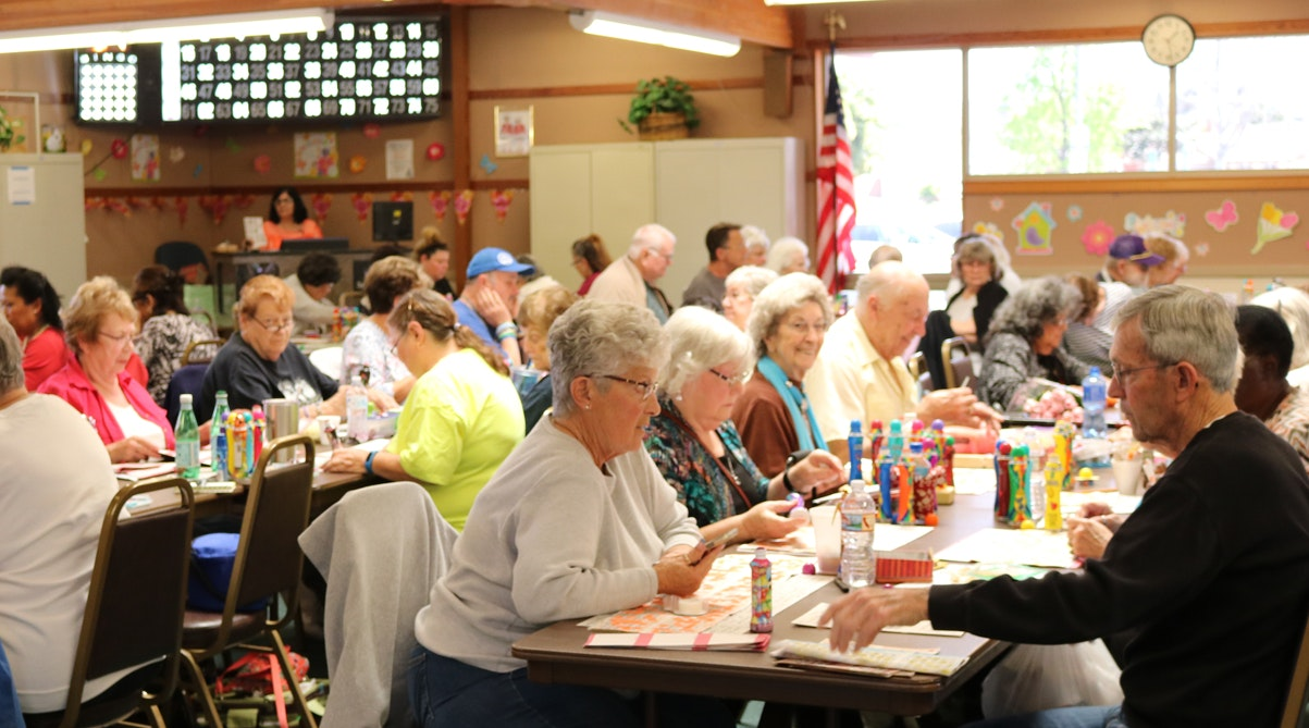 Bingo Bash at Pleasant Valley Senior Center