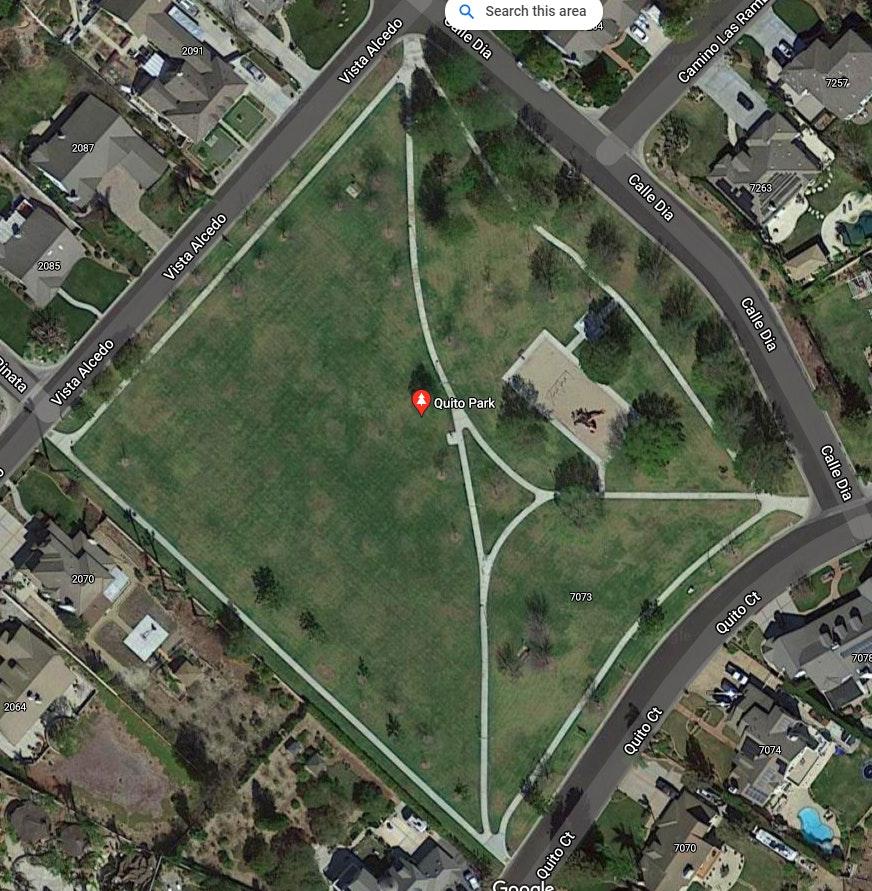 Quito Park - Google Map