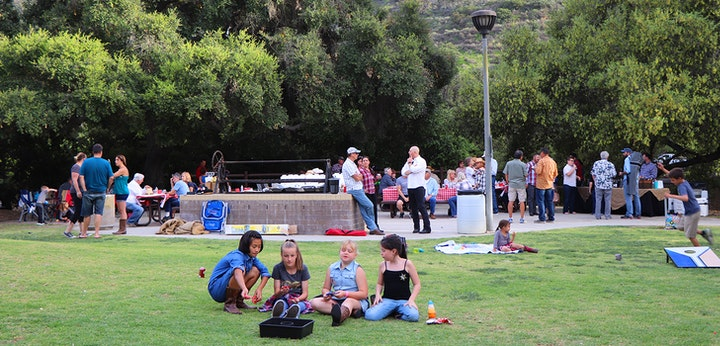 Camarillo Grove Park party