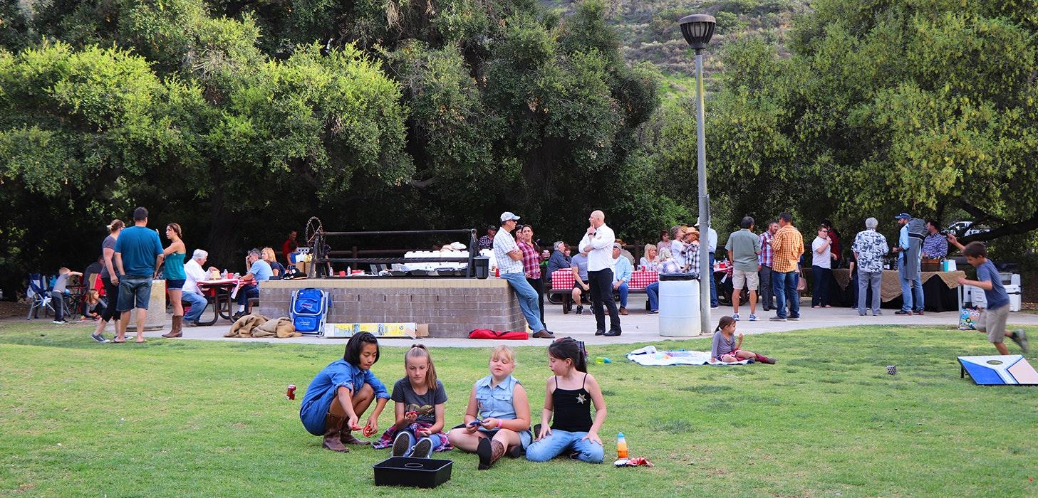 Camarillo Grove Park party