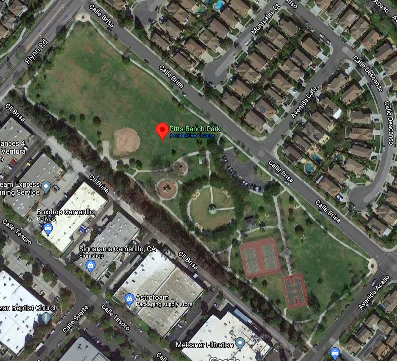 Pitts Ranch Park - Google Map