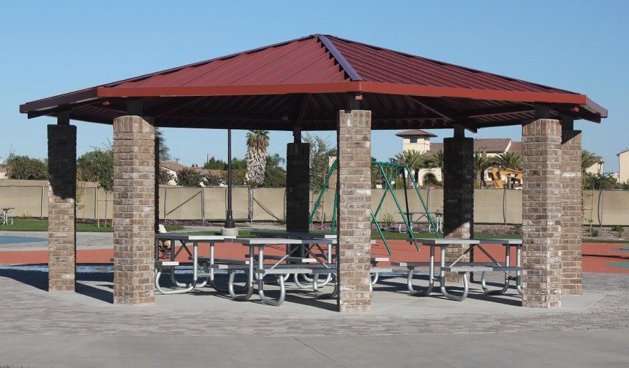 Mel Vincent Park picnic shelter
