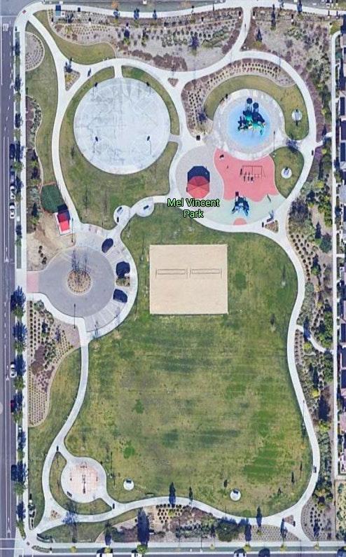 Mel Vincent Park - Google Map
