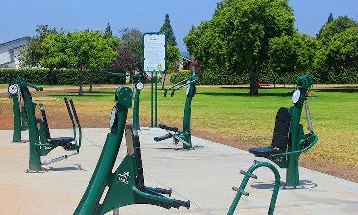 Arneill Ranch Park fitness equipment