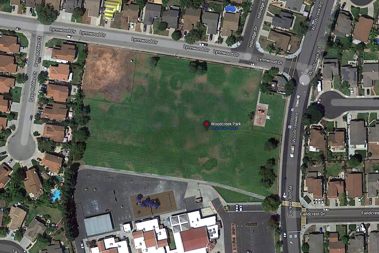 Woodcreek Park map