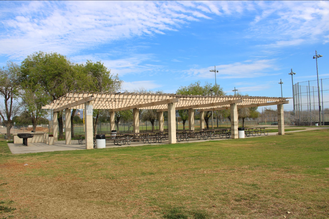Freedom Park picnic shelter