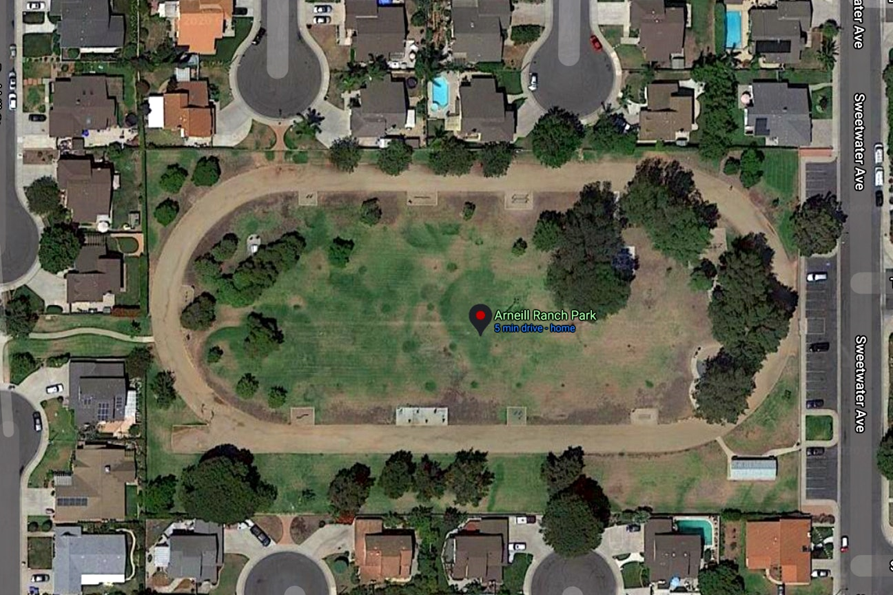 Arneill Ranch Park map