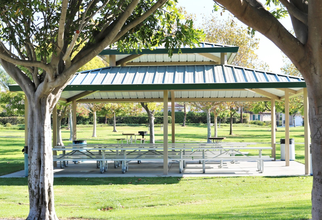 Pitts Ranch Park picnic shelter