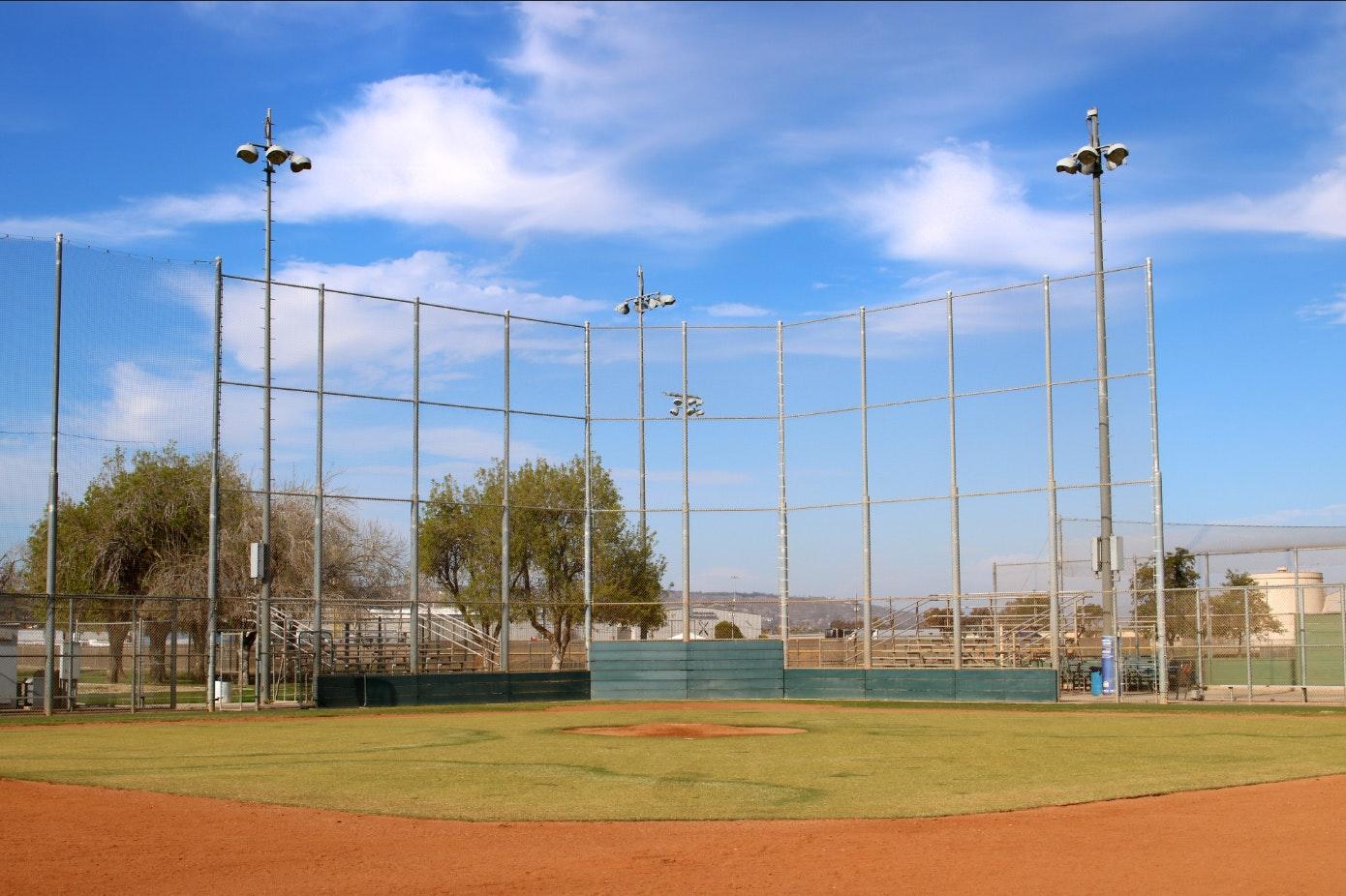 Freedom Park baseball field