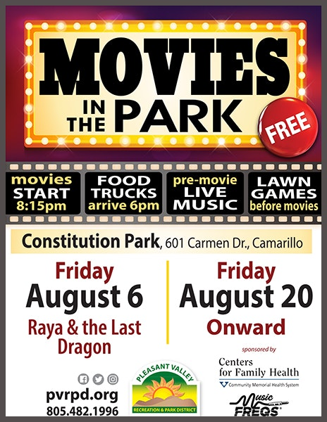 Movies in the Park poster