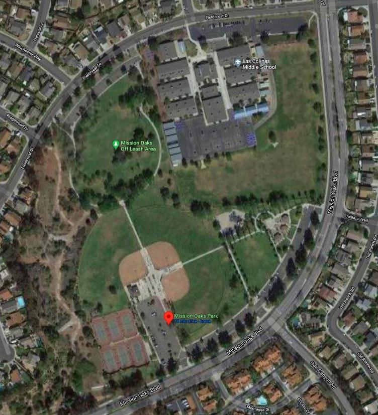 Mission Oaks Park - Google Map
