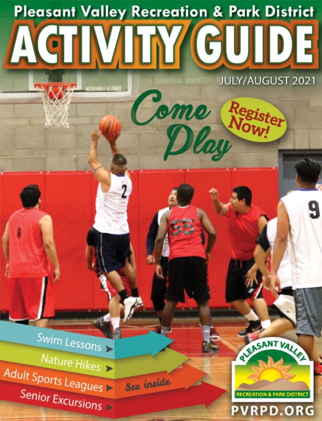 July-August Activity Guide cover