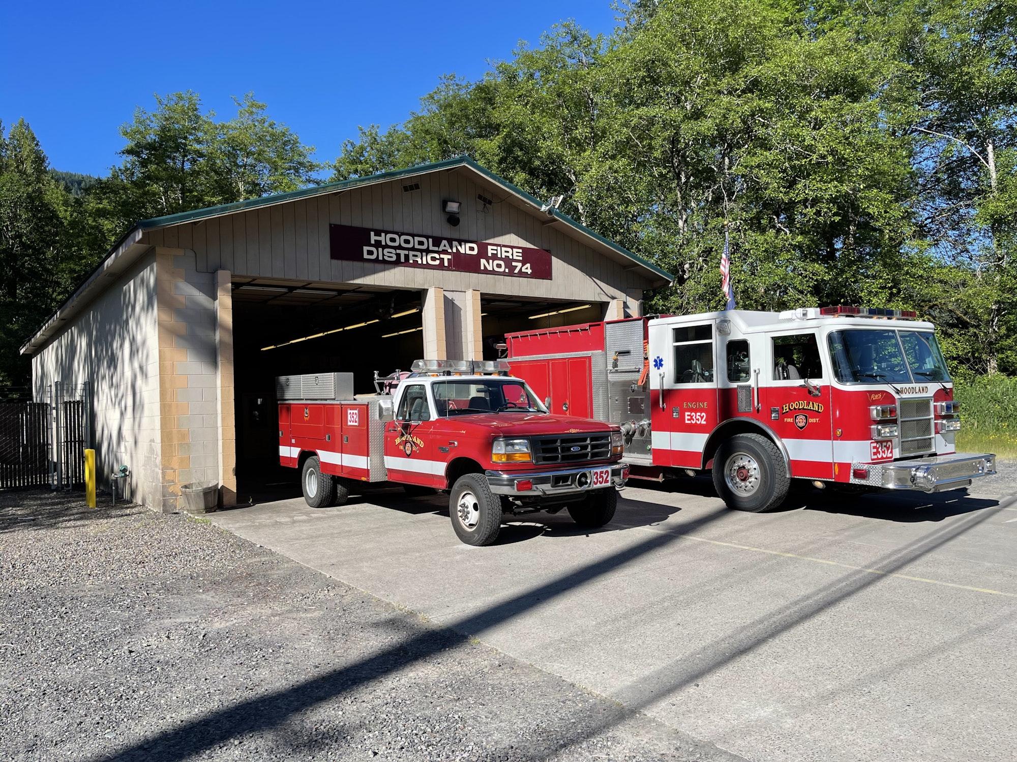 Brightwood Station 352, Engine 352, Brush 352