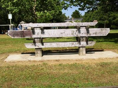 May contain: furniture, park bench, and bench