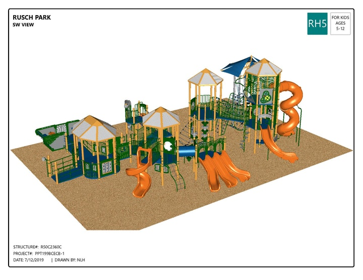 May contain: play area and playground
