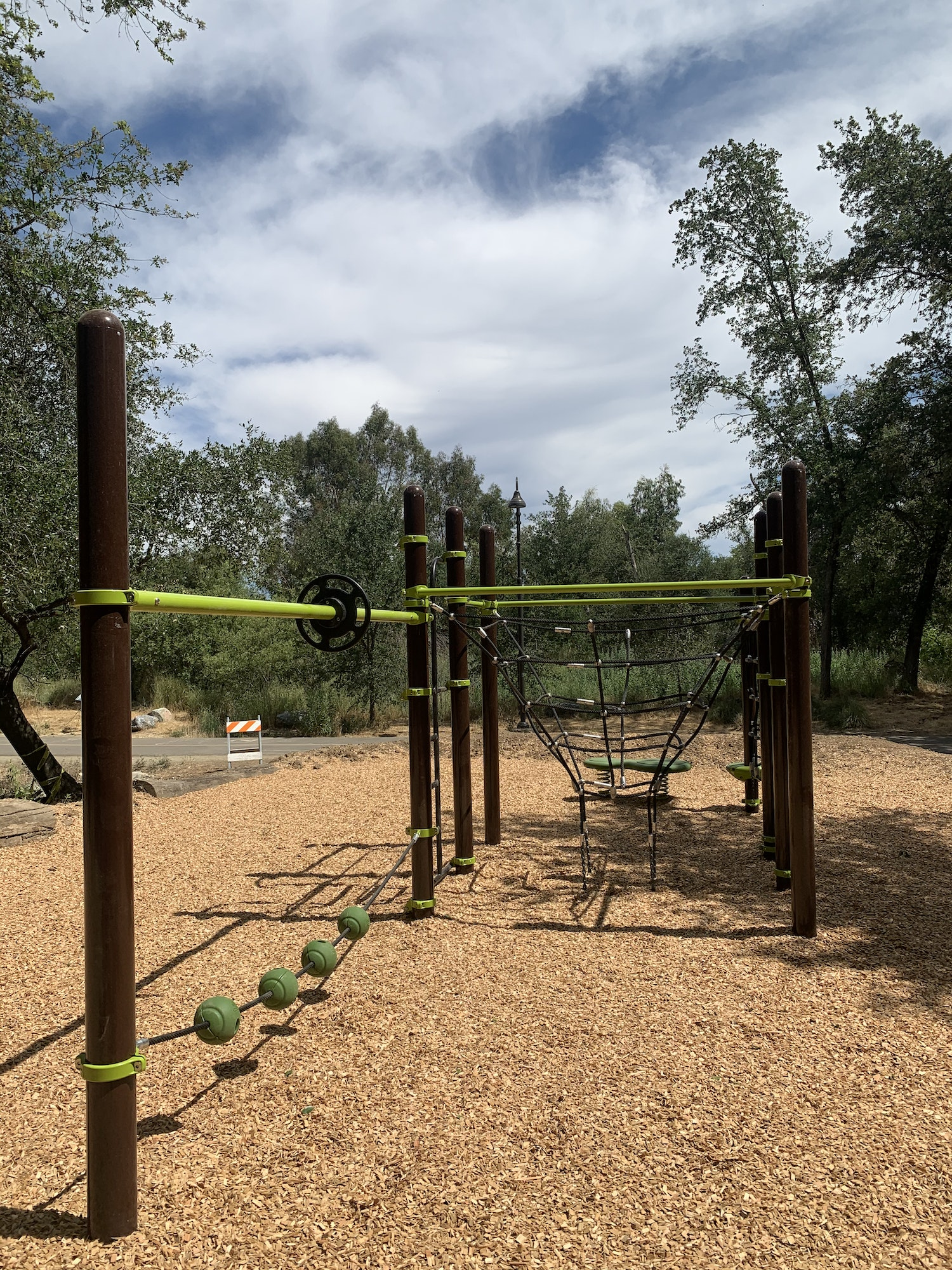 May contain: gate, play area, and playground