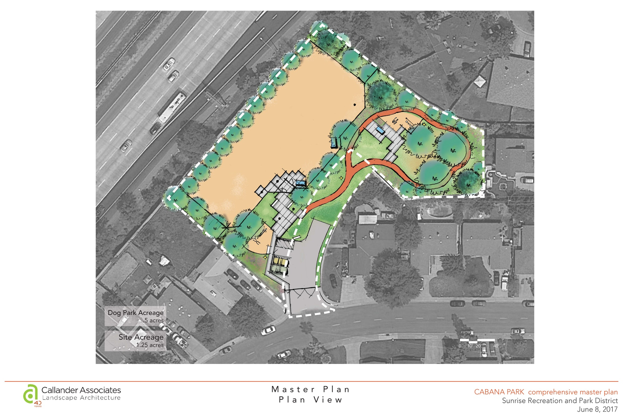 Cabana Park Drawn Plan