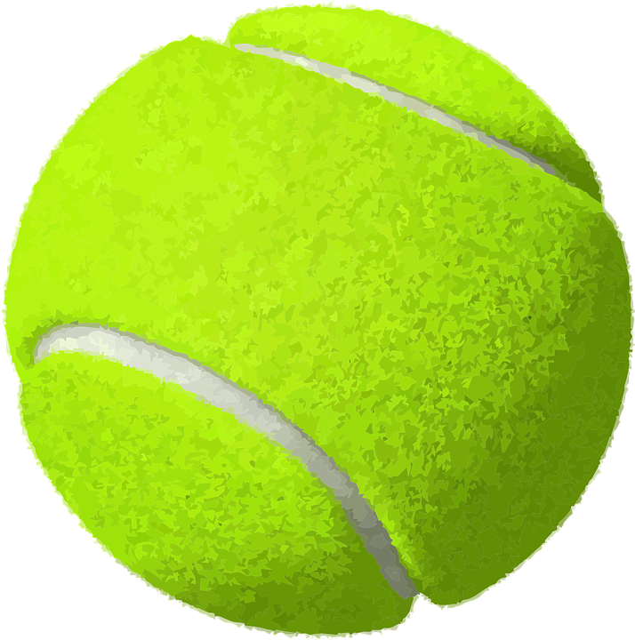 May contain: sports, tennis ball, sport, ball, and tennis