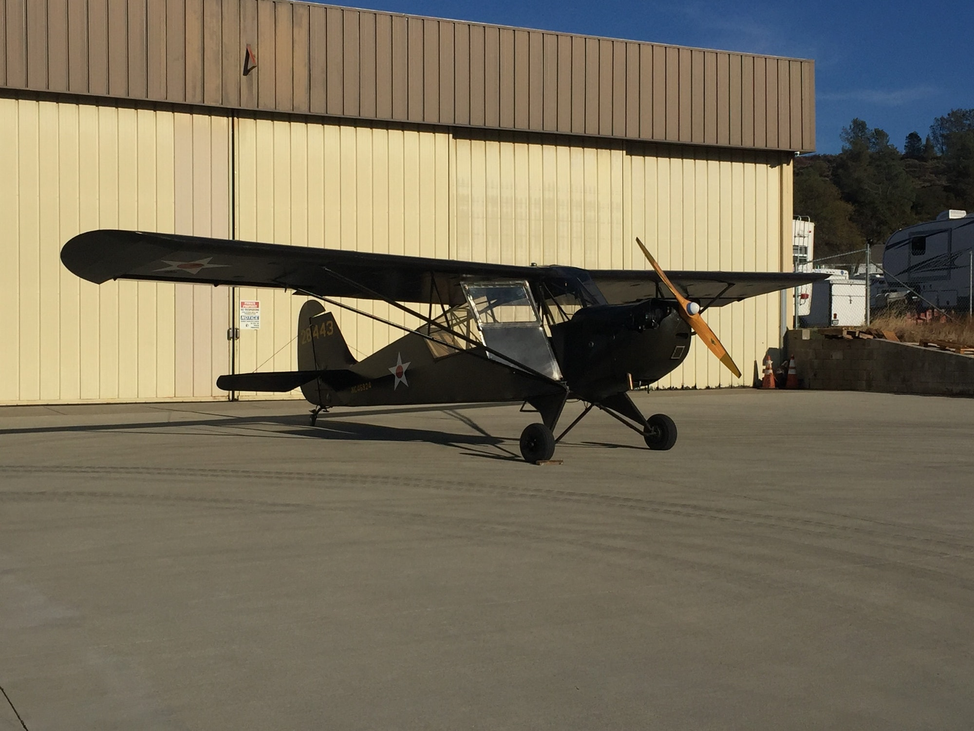 May contain: hangar, building, airplane, transportation, vehicle, and aircraft
