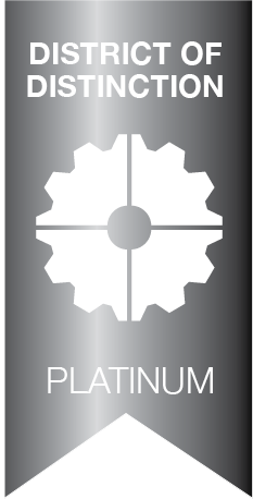 District of Distinction Platimun Level symbol