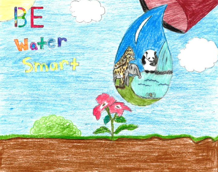 Water Smart 4th grade poster contest winner